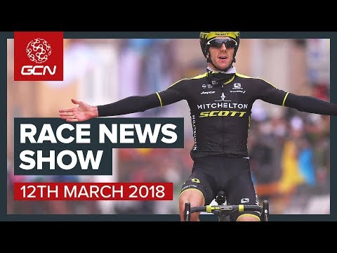 The Cycling Race News Show: Paris Nice, Tirreno Adriatico, Ronde Van Drenthe And The Tour Of Taiwan
