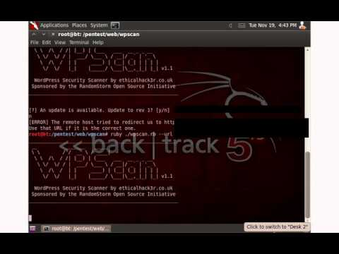 Hacking: How to use WPScan to hack Wordpress Websites