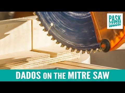 Dados on the Mitre Saw