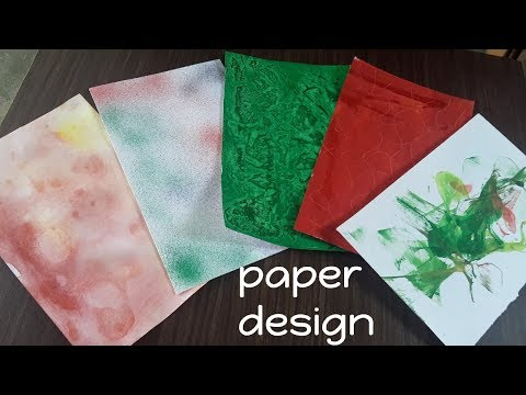 5 Types Of Colour Paper Design Make at Home | creative craft art