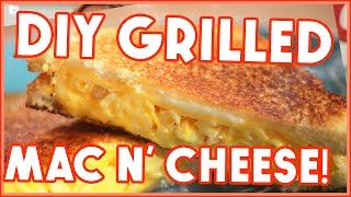 Mac n Cheese Grilled Cheese?! Scraps to Scrumptious w/ HowToByJordan