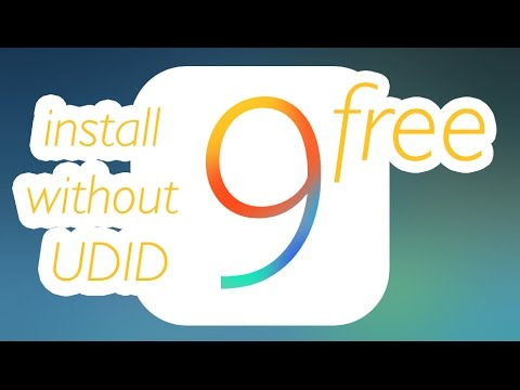 How to Install IOS 9 beta 1 without UDID for free on IPhone iPad iPod touch link