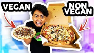 VEGAN FOOD VS NON VEGAN FOOD!