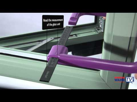 How to measure the glass thickness of a double glazed sealed unit