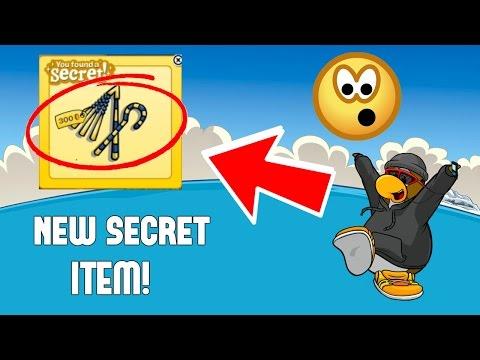 NEW SECRET ITEM! QUEST FOR THE GOLDEN PUFFLE! - Club Penguin Rewritten