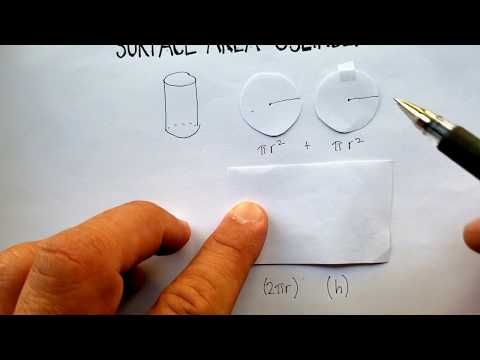 Surface Area: Cylinder
