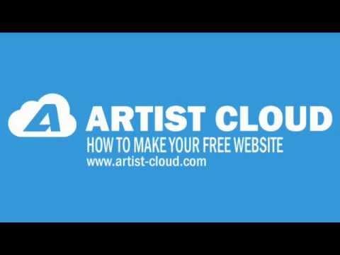 Artist cloud com  -  How to build your free website