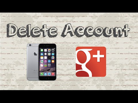 How to delete Google Plus account | Mobile App (Android & Iphone)