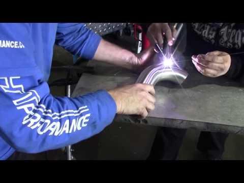 How LHT builds an exhaust - Subaru STi