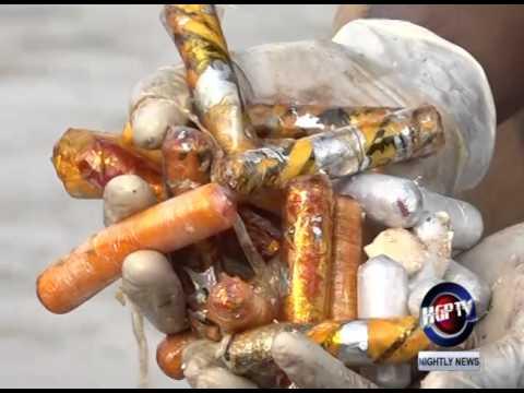 600 Kilos Of Seized Cocaine Dumped At Sea