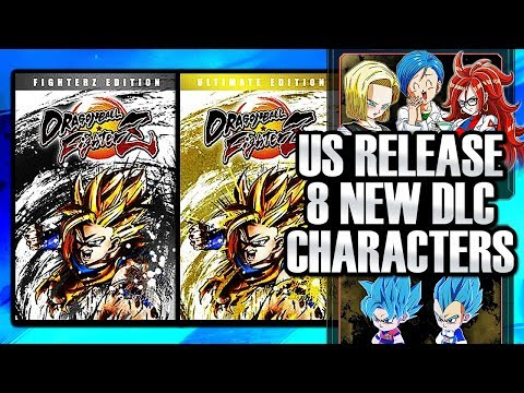Dragon Ball FighterZ NEWS - US RELEASE DATE IN JANUARY, 8 DLC CHARACTERS, NEW EDITIONS!