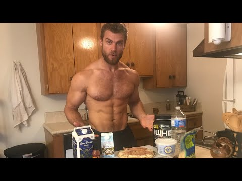 Brandon's Daily Routine | Full Day of Exercise and Eating