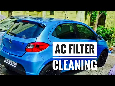 Tiago AC Air Filter cleaning...