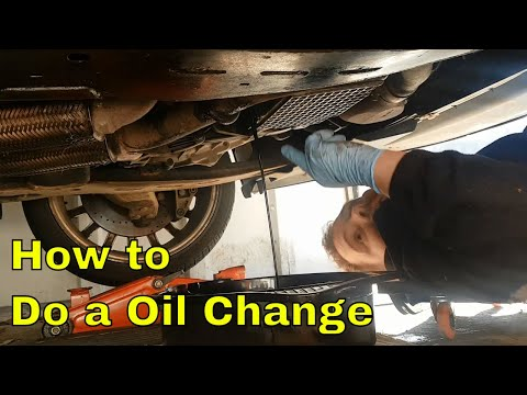 How to do an Oil Change Ford Mondeo Mk3 ST220