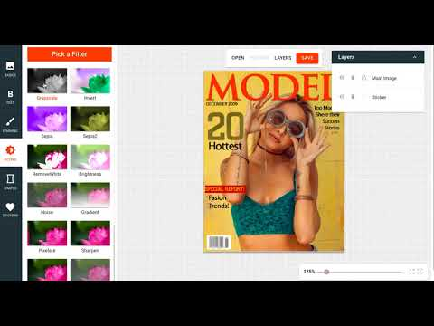 Create a Magazine Cover from any Photo