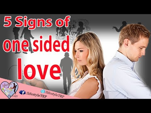 5 signs of One Sided Relationship / one side love | animated video