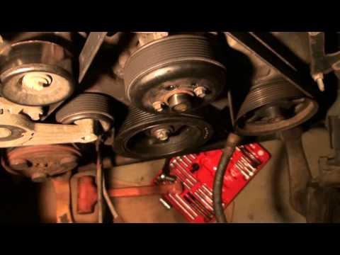 Serpentine Belt Chirp/Squeeeeek Repair - Harmonic Balancer - Ford F150 4.6L V8