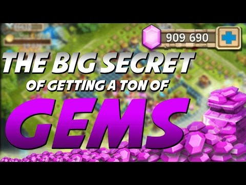 The Secret Of Getting a Ton Of Gems In Castle Clash! (Legit)