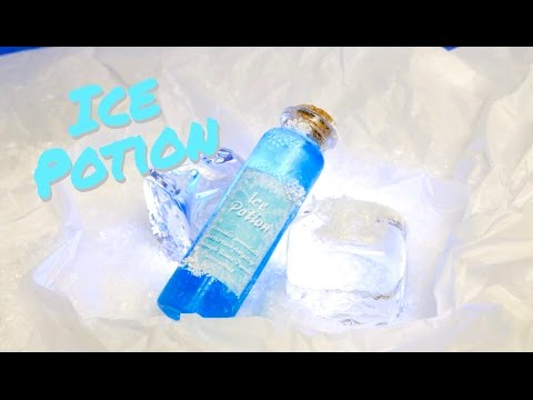 Ice Potion : DIY Potion Bottle : Potion Prop ( Harry Potter Inspired )
