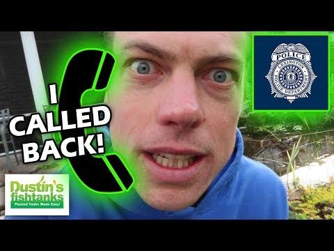 NEW GREENHOUSE SAGA: I Called The Cops Back