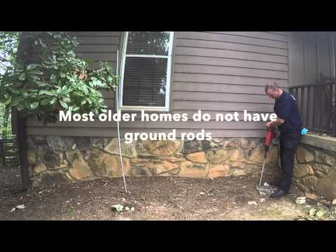 Electrical Grounding installation for a home