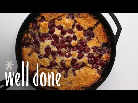 How To Make Raspberry Cobbler | Recipe | Well Done