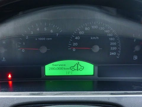 VZ (VY?) Holden Commodore Reset The Service Reminder HD