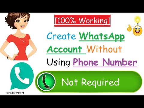 [100% Working] ☑️Create WhatsApp Account Without Phone Number |  USA Fake Number