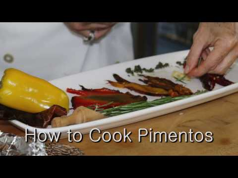 How to ROAST BELL PEPPERS 2 DELICIOUS PIMENTOS 4 WEIGHT LOSSS & xtra VIT C & flavor Video by Pachi