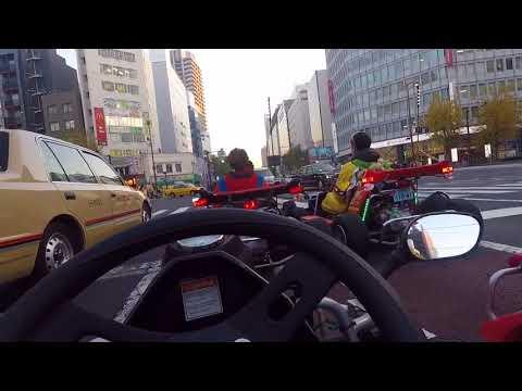 Mario Karts in Tokyo!