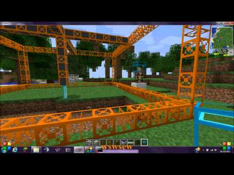 Tekkit: How to power a Quarry with Electricity