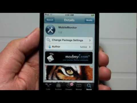 MobileMonitor - The Freakiest Cydia App Ever