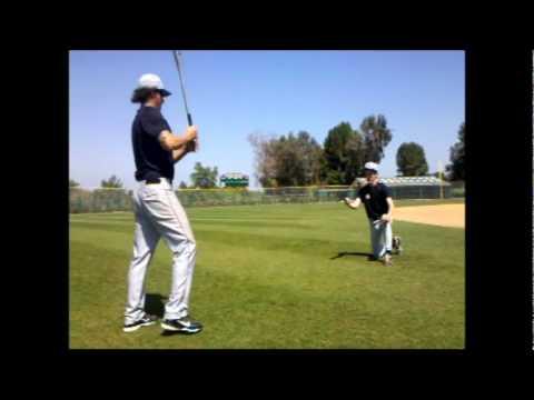 Golf Ball and Baseball Bat