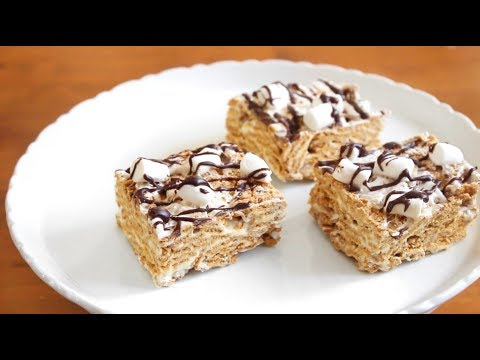 No Bake S'mores Bars | 4 ingredients