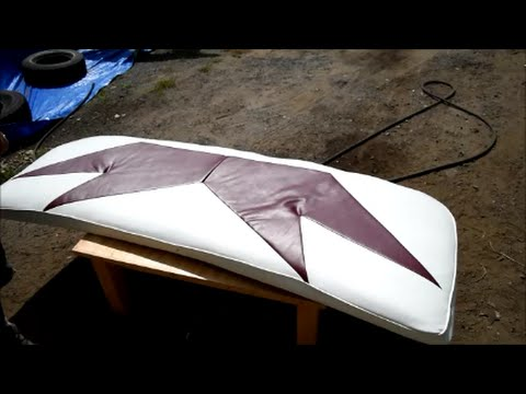 Boat Upholstery in 4 mins