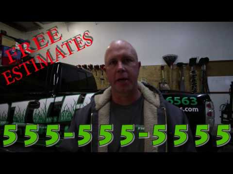 How to make Lawn Care Commercial to Advertise Your Business