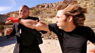 Kickboxing Guy vs Karate Giant | Martial Arts Action Scene