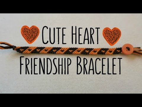 DIY Cute Small Heart Bracelet: BB Pattern #7911 // Friendship Bracelets // ¦ The Corner of Craft