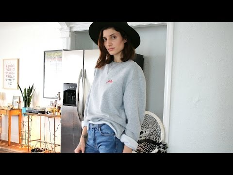 DIY: Reconstruct and Style an Oversized Sweatshirt
