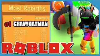 HOW TO REBIRTH EACH MINUTE IN ROBLOX MINING SIMULATOR! *FREE