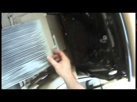 How to replace Nissan Altima 2013 in cabin microfilter