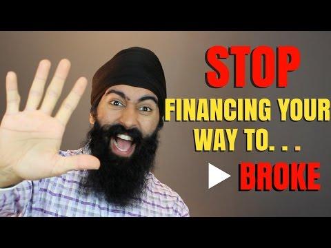 Financing Your Way To Broke | Minority Mindset - Jaspreet Singh