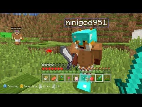 Minecraft Xbox - Mario Universe Hunger Games