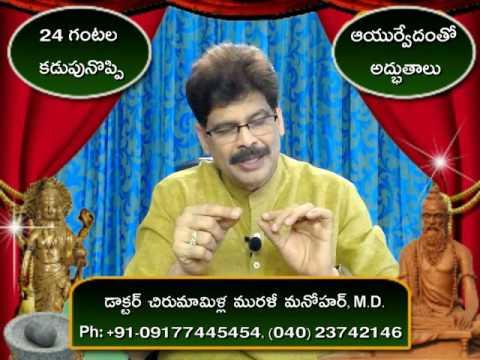 Appendicitis and Home Remedies in Telugu by Dr. Murali Manohar Chirumamilla, M.D. (Ayurveda)