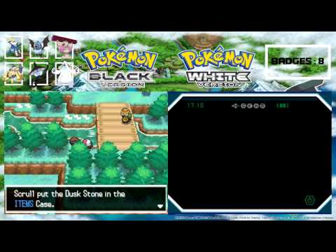 Let's Play Pokemon White Episode 35 - OMG It's a Dusk Stone