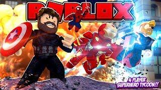 Superhero Tycoon Roblox Videos 9tubetv - fgteev roblox tycoon superhero