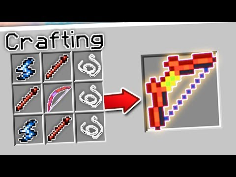 CRAFTING THE STRONGEST BOW IN MINECRAFT?! | Minecraft Mods