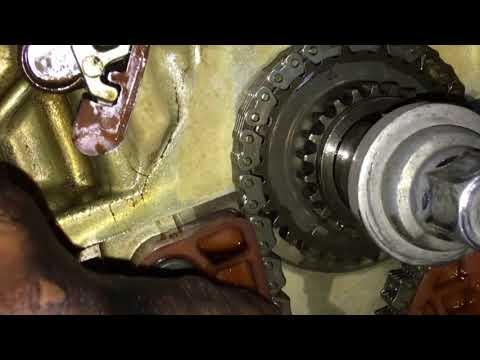 How to set timing CHAIN 2010 Honda Accord 2.4