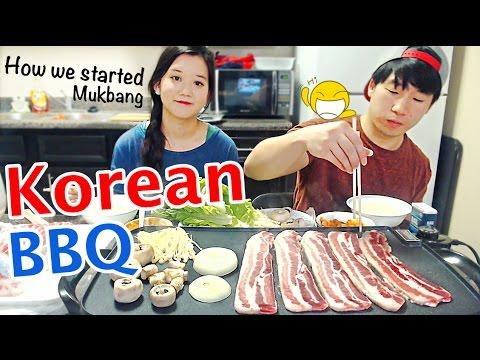 Korean BBQ Grill at home   Mukbang