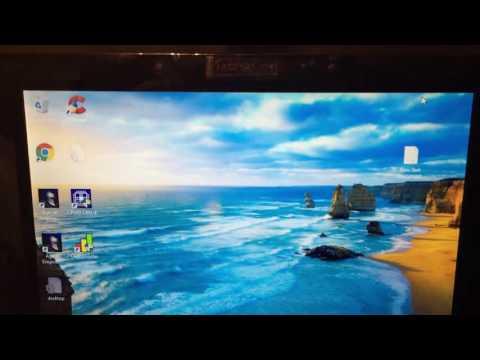 Eee PC 1000HE upgraded to Windows 10, hard drive SSD upgrade!